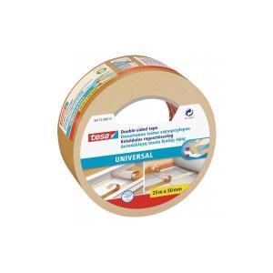 Obojstranná lepiaca páska tesa® UNIVERSAL 50 mm x 25 m