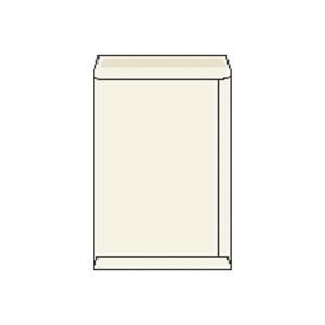 Tašky biele recyklované B4 (250 x 353 mm), 250 ks/balenie