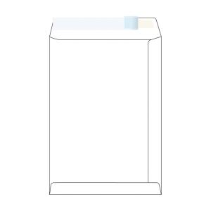 Tašky samolepiace biele C4 s oknom vpravo hore (229 x 324 mm), 250 ks/balenie