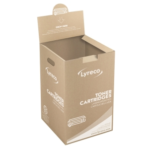 Zberný box Lyreco na recykláciu tonerov