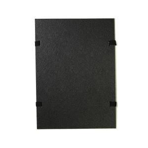 Spisové dosky so šnúrkami Hit Office A4 čierne, balenie 25 kusov