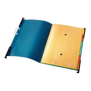 Závesná triediaca kniha Leitz A4 modrá