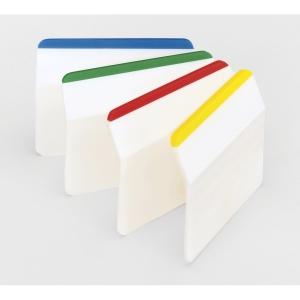 3M Post-it® 686 Záložky pevné šírka 50mm, bal. 4 farby po 6 lístkov