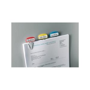 Popisovacie spony Esselte Desk Free, mix farieb, 12 kusov