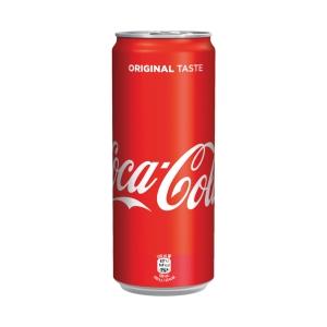Coca-Cola plechovka 0,33 l, balenie 24 kusov