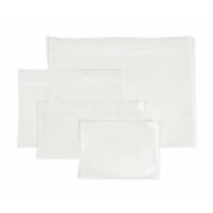 Obálky sprievodné priehľadné (225 x 160 mm), 250 kusov/balenie