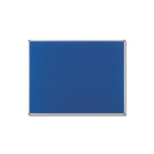 Nobo Classic textilná nástenka 120 x 90 cm, modrá