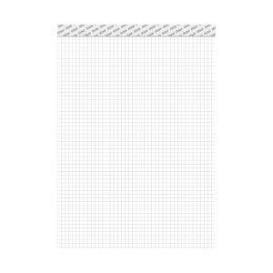 Blok Ursus A4, perforovaný, poznámkový, štvorčekový 5 x 5 mm, 48 listov