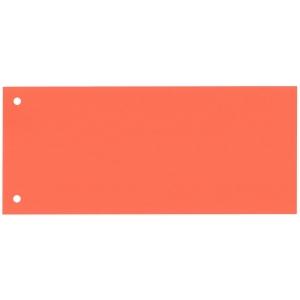 Rozdeľovače 1/3 (100 x 240 mm) Bene oranžové, balenie 100 kusov