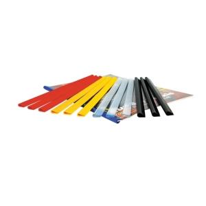 Násuvné lišty Bene 5 mm (25 - 40 listov) modré, balenie 20 kusov
