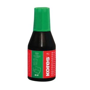 KORES 71318 pečiatková farba 28 ml zelená