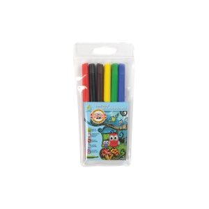 Školské fixy koh-i-noor, mix 6 farieb