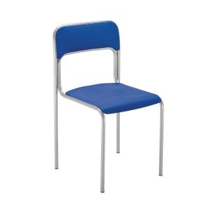 Konferenčná stolička Nowy Styl Cortina Alu, modrá