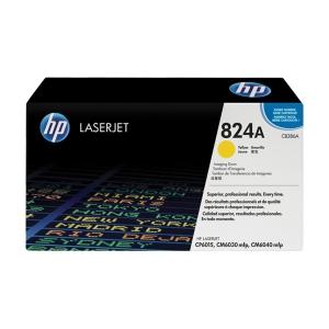 HP valec pre laserové tlačiarne CB386A žltý