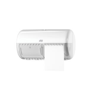 Tork 557000 zásobník na toaletný papier konvenčný kotúč , biely