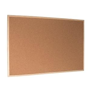 Korková tabuľa s dreveným rámom 120 x 90 cm