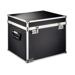 Uzamykateľný archivačný box Leitz L, čierny