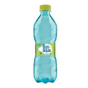 Pramenitá voda Bonaqua limetka-mäta 0,5 l, balenie 12 kusov