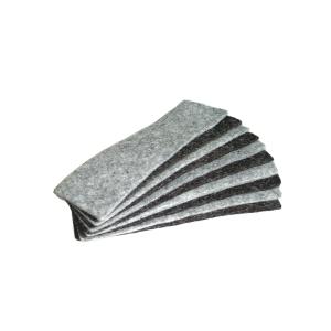 Náhradné filcové vankúšiky Bi-Office do magnetickej stierky, balenie 10 kusov