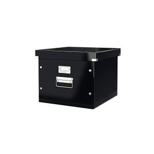 Odkladací box na závesné obaly Leitz Click & Store, čierny