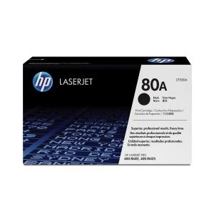 HP laserový toner 80A (CF280A) čierny