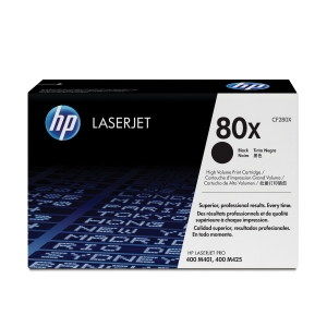 HP laserový toner 80X (CF280X) čierny