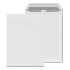Tašky jednoduché biele C4 (229 x 324 mm), 250 kusov/balenie