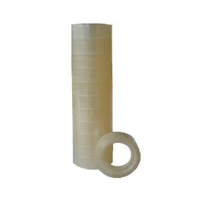 Priehľadná lepiaca páska 12 mm x 10 m, 12 kusov