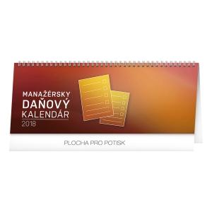 Stolový kalendár Manažérsky daňový SK 2018, 33 x 12,5 cm