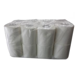 Toaletný papier biely, 2-vrstvový, 16 kusov