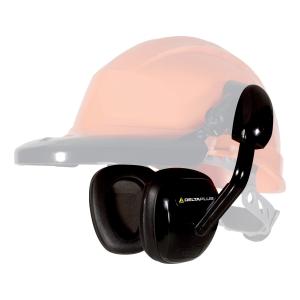 DELTAPLUS SUZUKA2 Chrániče sluchu pre bezpečnostné prilby, čierna farba