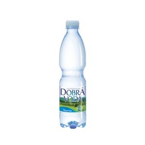 Minerálna voda Dobrá voda nesýtená 0,5 l - 8 ks