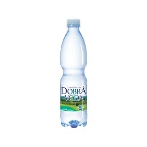 Minerálna voda Dobrá voda jemne sýtená 0,5 l - 8 ks