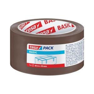 Baliaca PP páska tesapack® BASIC, 50 mm x 66 m, hnedá