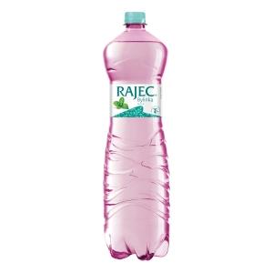 Rajec pramenitá ochutená voda, mäta, 1,5 l, 6 ks