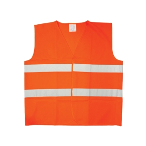 Reflexná bezpečnostná vesta ČERVA BRUNO, oranžová