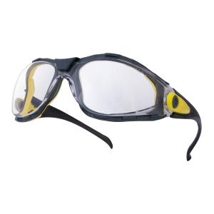 DELTAPLUS PACAYA Ochranné okuliare, farba číra/šedá
