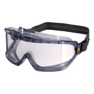 DELTAPLUS GALERAS PVC Ochranné okuliare, farba číra/šedá