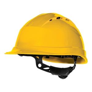 Ochranná prilba DELTA PLUS QUARTZ UP IV, žltá