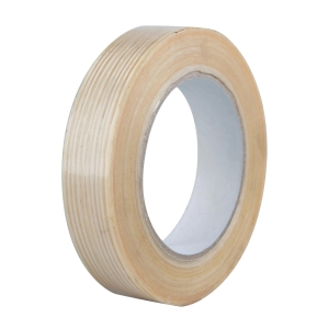 Baliaca páska Filament, 25 mm x 50 m, transparentná
