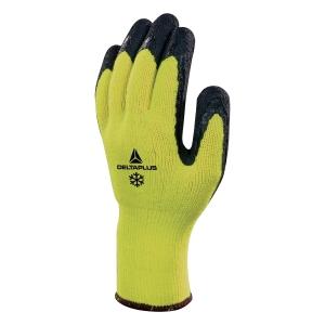 Rukavice na tepelné riziká DELTA PLUS APOLLON WINTER VV735, žlté, veľkosť 9