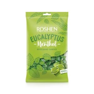 Mentolové cukríky Eukalyptus 1 kg