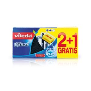 Hubka na umývanie riadu Glitzi 148074, 3 kusy