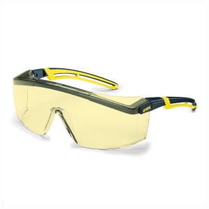 UVEX ASTROSPEC 2.0 Bezpečnostné okuliare čierna/žltá