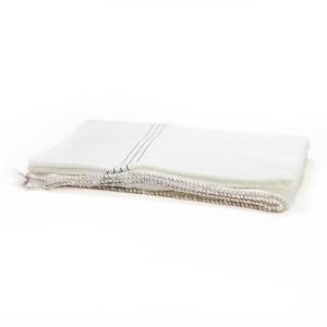 Netkaná handra na umývanie podláh biela, 80 x 60 cm