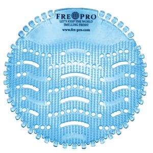 Vonné sitko do pisoárov Wave Fre Pro modré, 2 ks