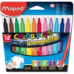 Fixy Maped Color Peps, mix farieb, 12 ks