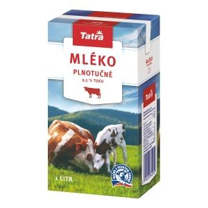 Trvanlivé mlieko Tatra 3,5 % 1 l