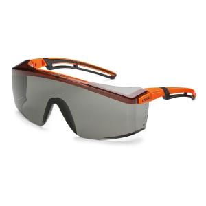 UVEX ASTROSPEC 2.0 Bezpečnostné okuliare, neónová oranžová/čierna