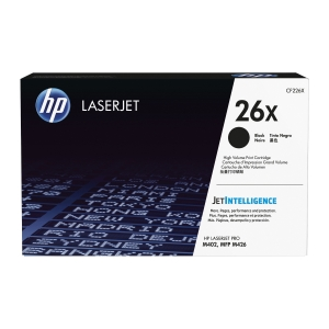 HP laserový toner 26X (CF226X) čierny